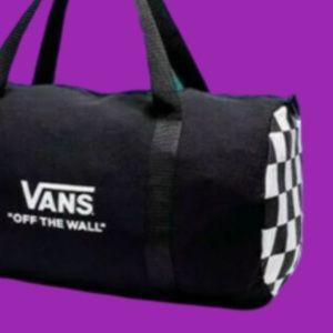Vans Accessories - 👦VANS COLLECTORS DUFFEL BAG CHECKER ON BOTH SIDES